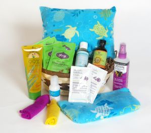 Radiation Care Basket :: Ms Ladybug Gift Baskets - Eugene Oregon